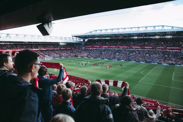 Fodboldstadion publikum