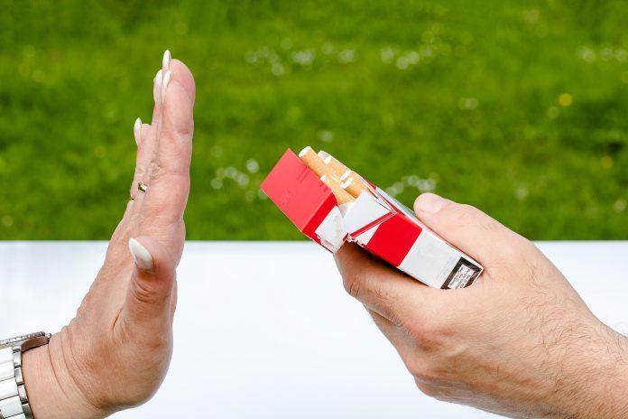 Cigaretter nej tak
